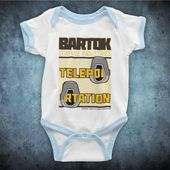 Die Fliege Bartok Science Industries Jeff Goldblum Science-Fiction-Film Inoffizielle Baby wachsen   – Products
