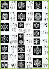 Muestra creativa y Grand Snowflake   – DIY Hochzeit