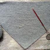 Triangular Scarf Trachtentuch as DreiTracht instructions