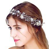 Chic Amazon.com : FAYBOX Bridal Vintage bridal hair accessories