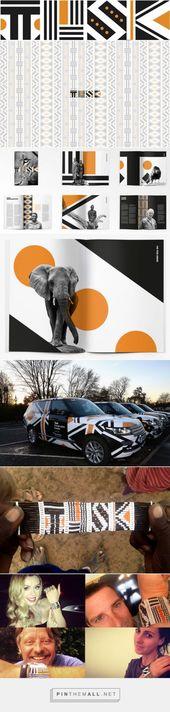 Nuevo logotipo y #Identidad para Tusk Conservation Awards por The Partners #logoandiden …   – Identidades visuais