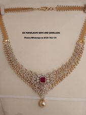 IGI certified Diamonds necklace. Rs 4.46 lakhs. Ca…
