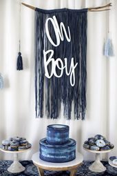 Shibori Tie Dye Babyparty Brunch – #babyshower #ba…