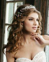 Brautfrisuren Mit Diadem Elegant Brautfrisuren Hal…