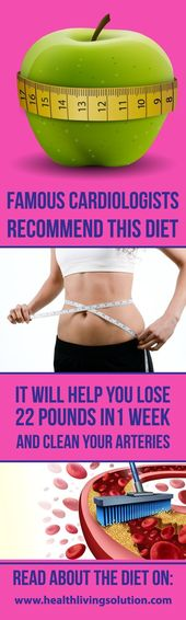 FAMOUS CARDIOLOGISTS HIGHLY RECOMMEND THIS DIET