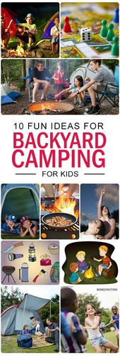 10 Spaß Hinterhof Camping Ideen und Checkliste für Kinder – FUN STUFF for the KIDS