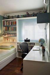 52+ Ideen für komfortables Design und Organisation kleiner Schlafzimmer
