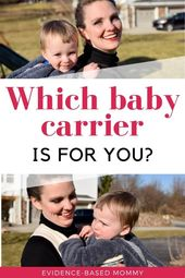 Baby Carrier Baby wearing (and the best carriers) | Evidence-based mommy