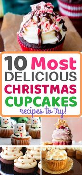 10 Delicious and Festive Christmas Cupcakes To Try