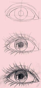 20 tolle Zeichenideen für Augen und Inspiration – # Unglaublich #Zeichnen #Auge #Ideen #Inspiration Die Post 20 tolle Zeichenideen …