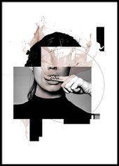 Shhh Poster in der Gruppe Poster / Größen und Fo…