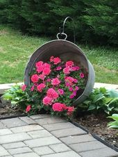 ❤44 artistic container gardening flowers concepts decorations 3