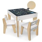 Little Modern Table and Chairs – White