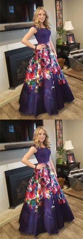 A-Line Off-the-Shoulder Dark Grape Floral Satin Prom Dress with Appliues,M0432 – Prom dresses