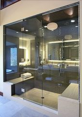 25 frische Dampf Dusche Badezimmer Designs Trends