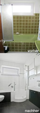 Photo of The TWINLINE 1 shower bath with an extra wide shower area is an immense com …