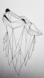 1000 Ideen Zu Geometrischen Wolf Tattoo On Pinterest Geometrisch mit Wolf Tattoo