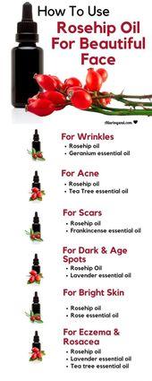 10 Vorteile von Hagebuttenöl für das Gesicht und wie man es verwendet – Natural Skin Care Routine