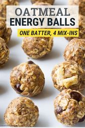 5280b5d596e9d24a3ab51ef90a903152 Healthy And Balanced Oat Meal Power Balls that I really love! This simple no bake dish is actually higher in public relations ...