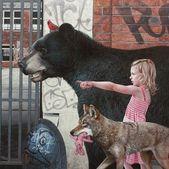 Bei Kevin Peterson streifen Kinder und wilde Tiere durch eine untergegangene Welt – KlonBlog