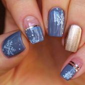 42 Cute Winter Nails Designs to Inspire Your Winter Mood
