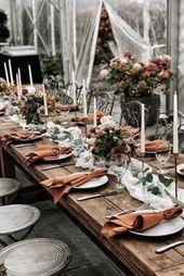 Photo of Doppelte Gaze Terracota Servietten Set mit 4 Naplins für die Hochzeit Hochzeit Käsetuch …