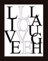 Bild Leben, Lieben, Lachen Jetzt bestellen unter: moebel.ladendirek… #bilder #…