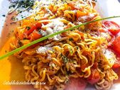 SPAGHETTIS WITH TWO TOMATOES gluten-free, lactose-free or low-lactose  – SANS GLUTEN