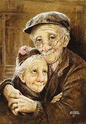 Photo von einem älteren Ehepaar – #alteren #ehepaar #einem #photo – #LiebespaarZeichnungen-#alteren