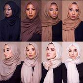 Bien choisir la couleur de son voile selon le teint du visage