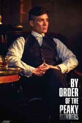 Peaky Blinders By Order Of The – plakat