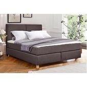 Boxspring beds #hausdeko Home affair Boxspring bed Nele incl Topper in similar design Home AffaireHome Affair