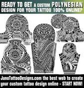 polynesian tattoos, samoan tattoo, tattoo template, juno tattoo designs, tribal… – Polynesian tattoos