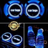 Car Colorful Car USB Charging LED Light Coaster(BUY 1 GET 2ND 10% OFF)