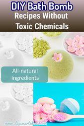 Rezepte und Anweisungen, um perfekte hausgemachte Badebomben zu machen   – Diy Skin Care