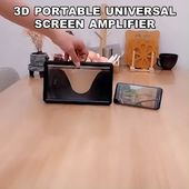 (Cyber Monday – 50% Off) 3D Portable Universal Screen Amplifier