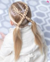easy and simple braided hairstyles #Braidedhairstyles #braided #braidedhairstyle…