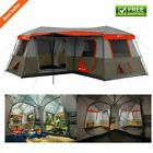 LARGE 3 Room Cabin Tent 10 Person 20'x11′ Camping Hunting Outdoor Ozark Trail 4  | eBay