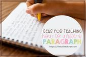 Concepts for Educating The best way to Write a Paragraph