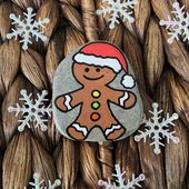 Christmas story stones – a perfect gift for toddler, Classroom kids favors for Christmas