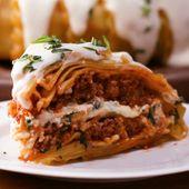 Lasagne-Haube