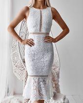 Tia Kleid - Weiß
