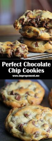 Perfect Chocolate Chip Cookies – my #recipes