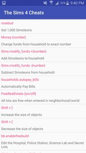 Sims 4 Cheat Codes For Android Apk In 2020 Sims 4 Cheats Sims 4 Cheats Codes Sims 4