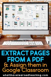How to Extract Specific Pages from a PDF and Place them in Google Slides