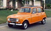Renault 4 – mit Revolver-Schaltung   – born 1968: memories + souvenirs