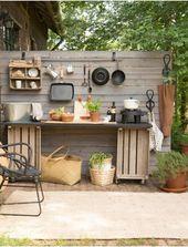 Outdoor-Küche – Garten- Küche