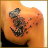 Schmetterling Tattoo – Symbolik, Bedeutung und Modelle-  #Bedeutung #FrauenTattooideen #FrauenTattoozart #Modelle