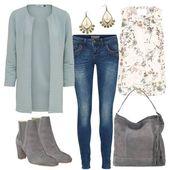 OOTD. 1, 2, 3 oder 4 ??? Welchen Artikel aus diesen Styles würdest du in deine Einkaufsliste aufnehmen ??? credit @elorabee #americanstyle #ootd #style