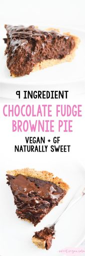 Rich, gooey, and full of dark chocolate flavor, this vegan chocolate fudge brown…